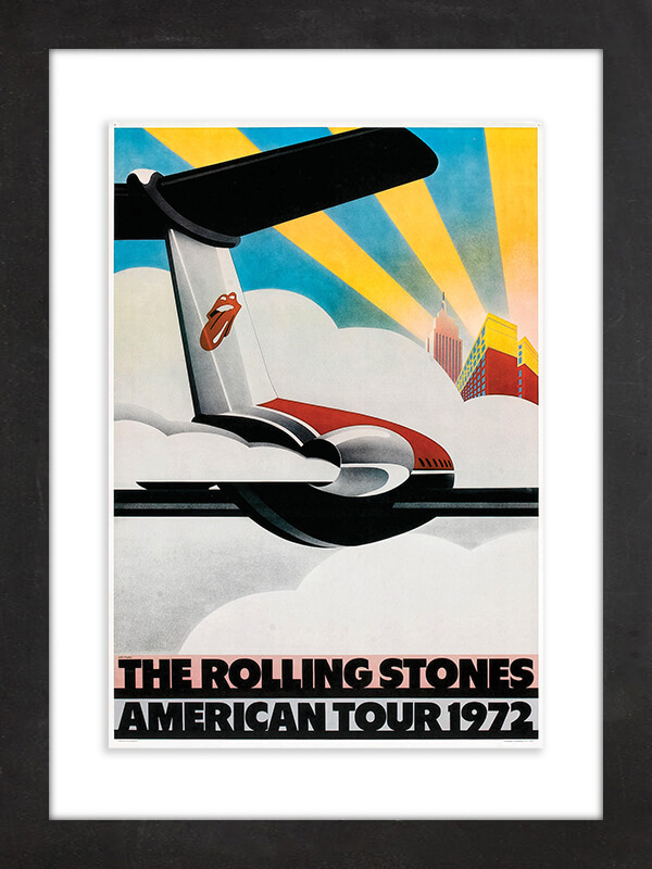 "The Rolling Stones, 1972  This poster for the Rolling Stones' 1972 American tour, in support of its ""Exile on Main St."" album, comes from the band's personal archives and became part of a 2016 Rolling Stones exhibit at London's Saatchi Gallery that later traveled to venues around the world."