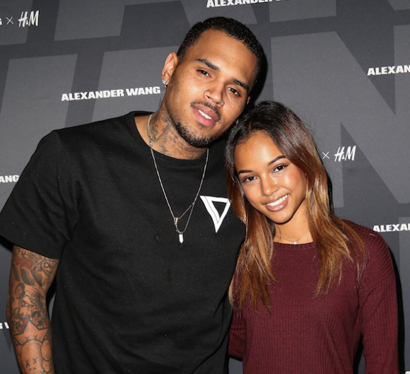 karreuche tran and chris brown with a stain on his shirt.jpg
