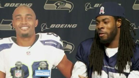 Richard Sherman and the hot cardboard cutout of Doug Baldwin.jpg