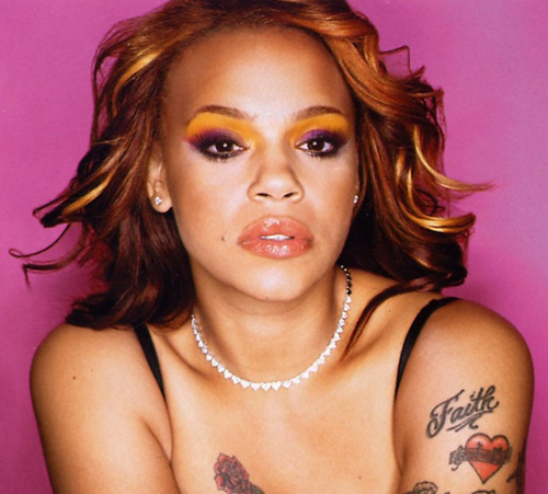 faith evans tattoo
