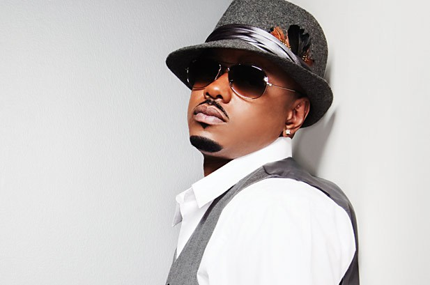 Donell Jones wearing a heathered fedora.jpg