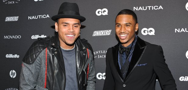 Trey Songz and Chris Brown looking extremely gorgeous together.jpg