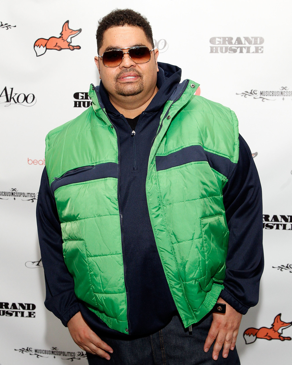 Heavy D looking hot in a kelly green vest.jpg