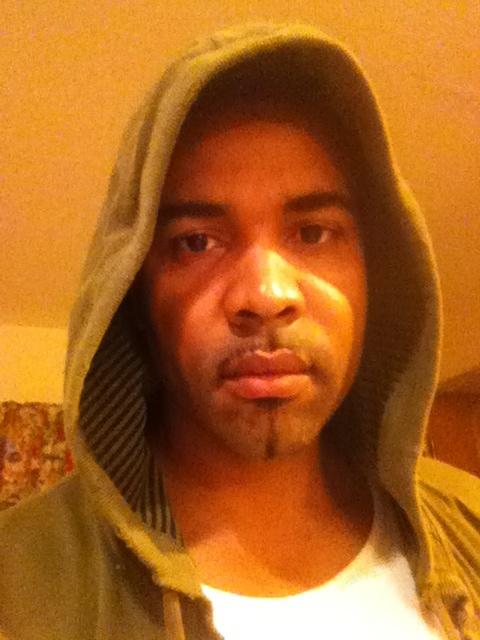 Kulcha Don looking hot with a hood on his head for Trayvon Martin.jpg