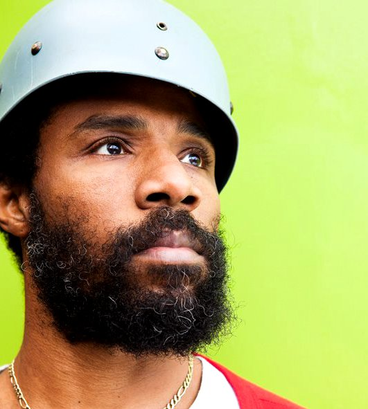 Cody ChesnuTT looking gorgeous with a helmet on.jpg