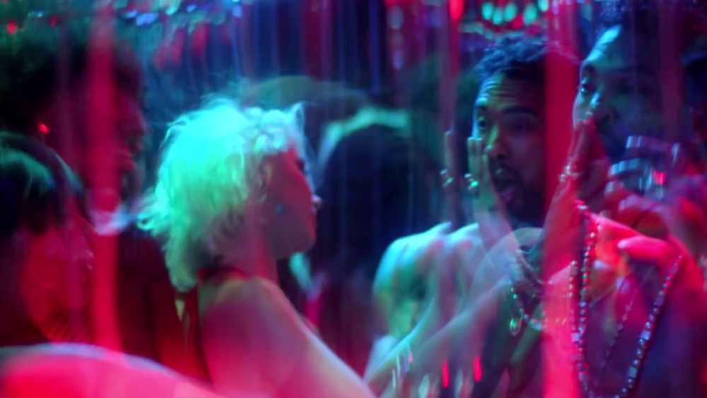 Miguel looking hot and confused in the Waves video.jpg