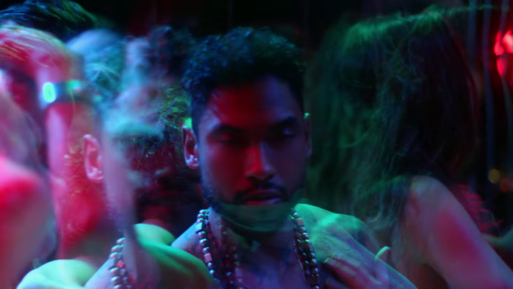 Miguel looking confused in the Waves video but he's still hot.jpg