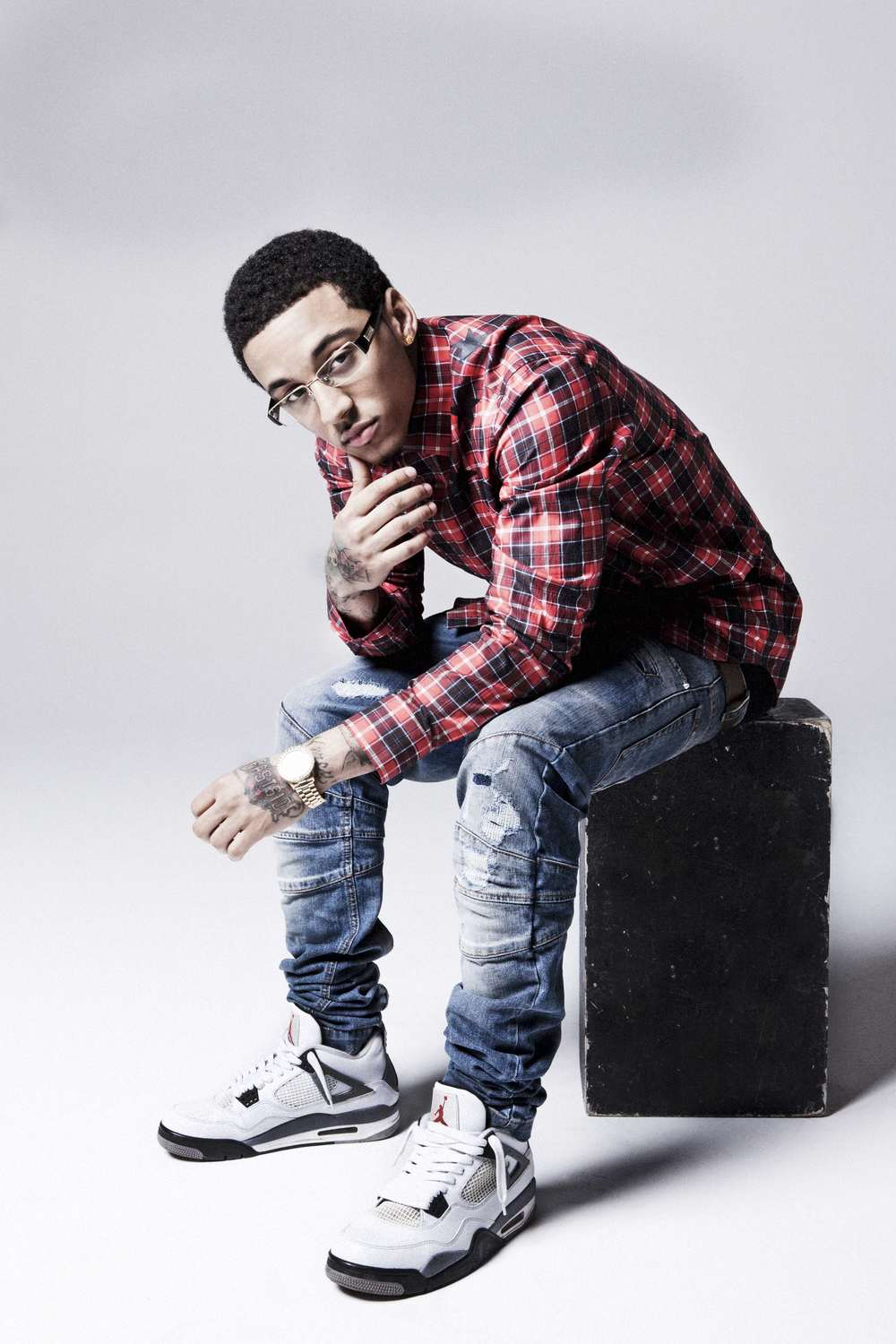 Kirko Bangz wearing plaid and looking hot.jpg