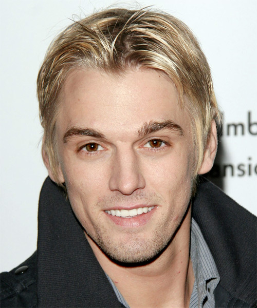 Aaron Carter looking hot in a black wool jacket.jpg