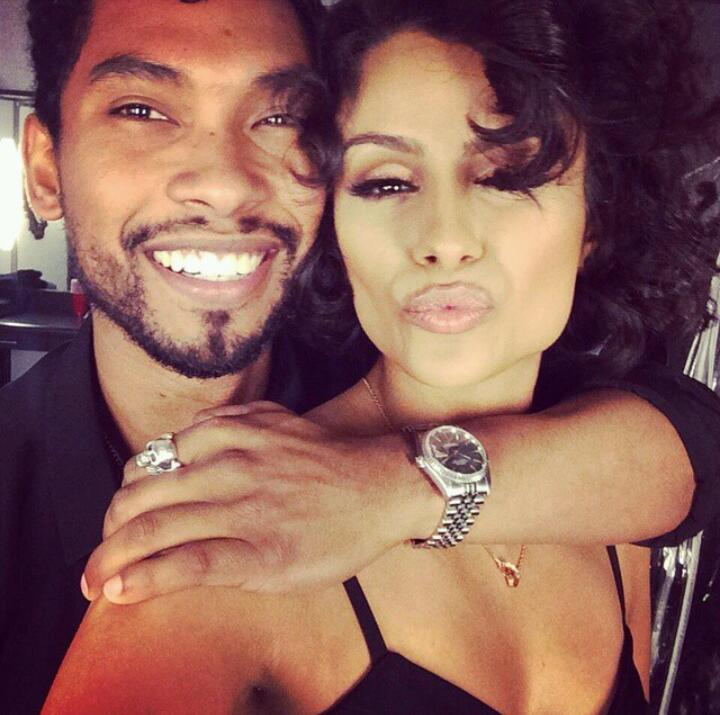 Miguel and his gf Nazanin Mandi taking a selfie.jpg