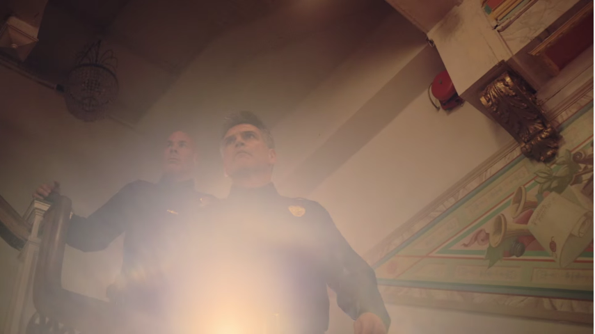 the NYPD aka the bad guys in Jidenna's Knickers video.jpg