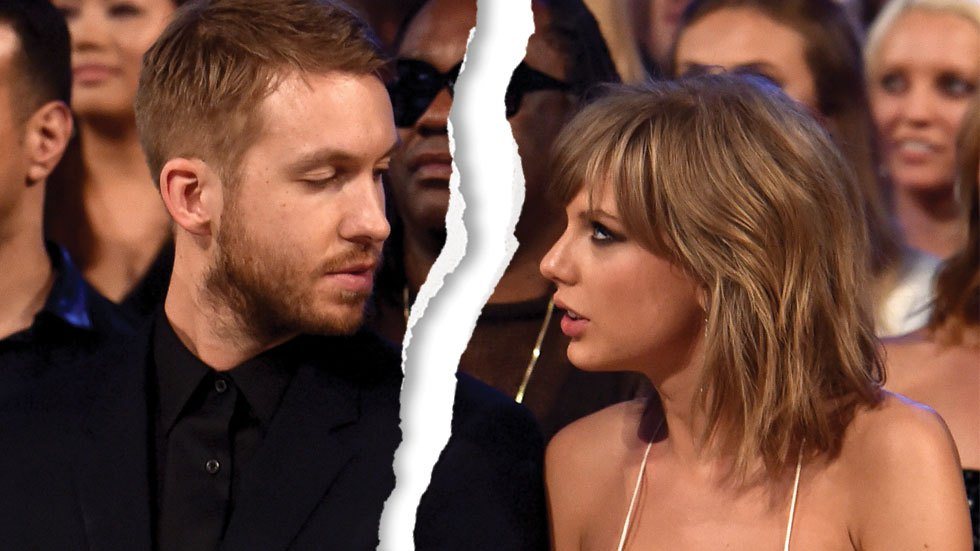 Calvin Harris and Taylor Swift breakup bc she's a crazy bitch.jpg