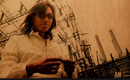 Rodriguez from Searching For Sugar Man. The filmmakers gloss over the fact that Rodriguez was a well known musician and not exactly an obscure talent who finally sees his name up in lights.