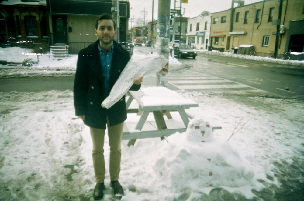 Russ + A melted snowman