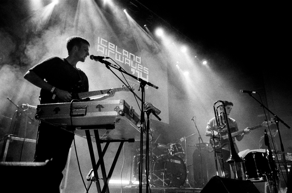 Adult Jazz doing it up at Iceland Airwaves