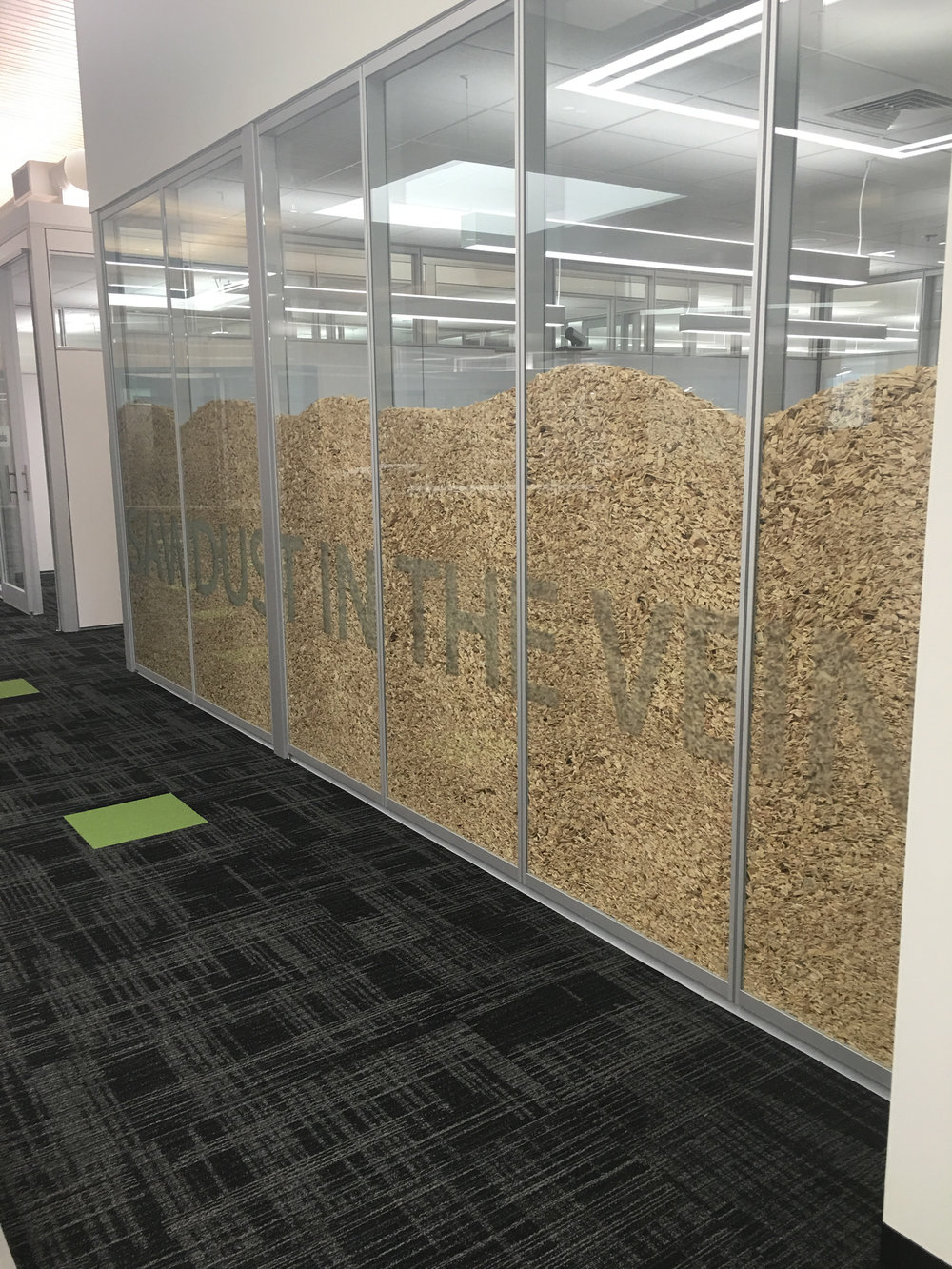 Sawdust completed wall.JPG