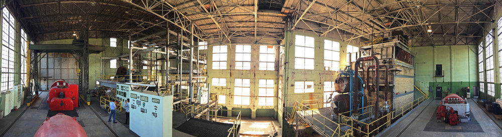 Inside the Steam Plant