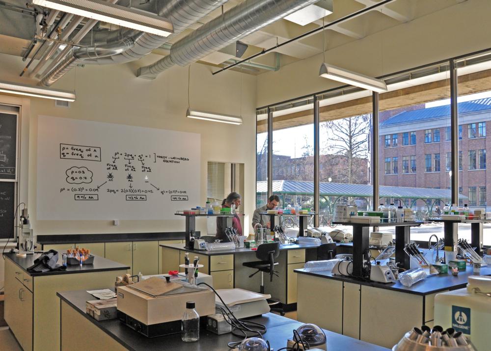 University of Oregon Biology Teaching Labs