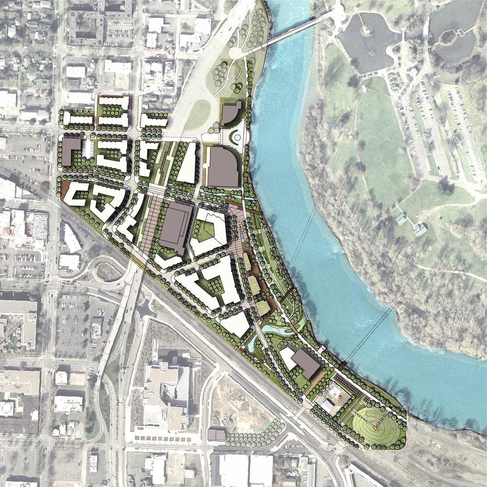 Eugene EWEB Riverfront Master Plan