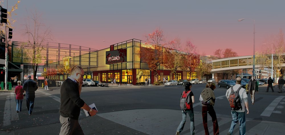 Salem Center Mall Planning