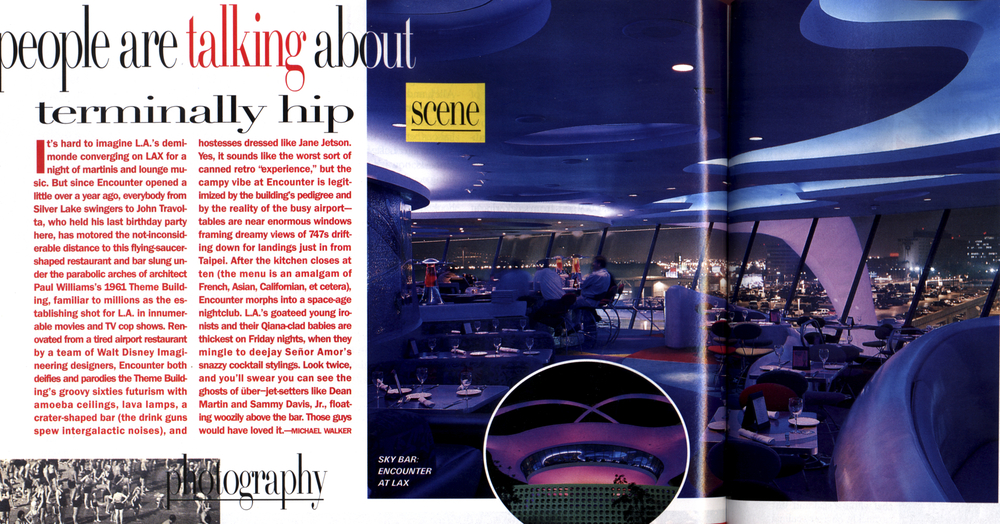 Vogue is raving about an Airport Restaurant?