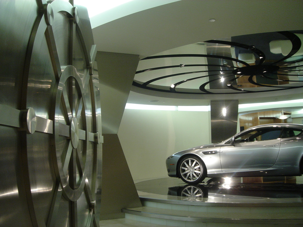 Aston Martin Showroom Galpin Auto Sports Los Angeles, CA