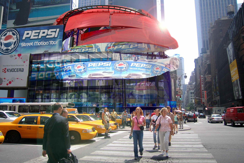 PepsiCo Epicenter Times Square New York City, NY