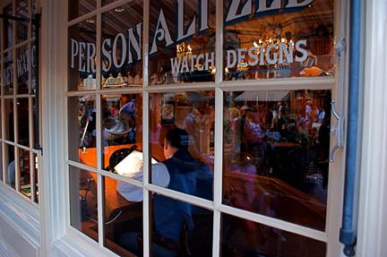 Artist's Sketch Watch Disneyland Anaheim, CA