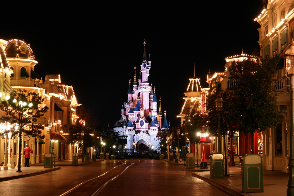 Main Street - Disneyland Paris  Paris, France   Click to view project.