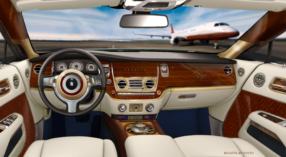 "The ""Bridge"" is just that..a bejeweled command center that celebrates the vintage dashboard, yet never compromises features that Rolls Royce is famous for. Like Skyacht One , nothing is left to chance."