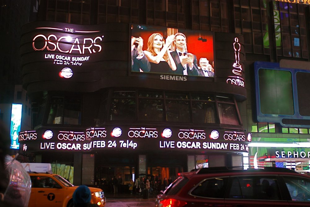 A digital facade can capture the moments, just as the old news tickers did in Times Square 50 years ago.