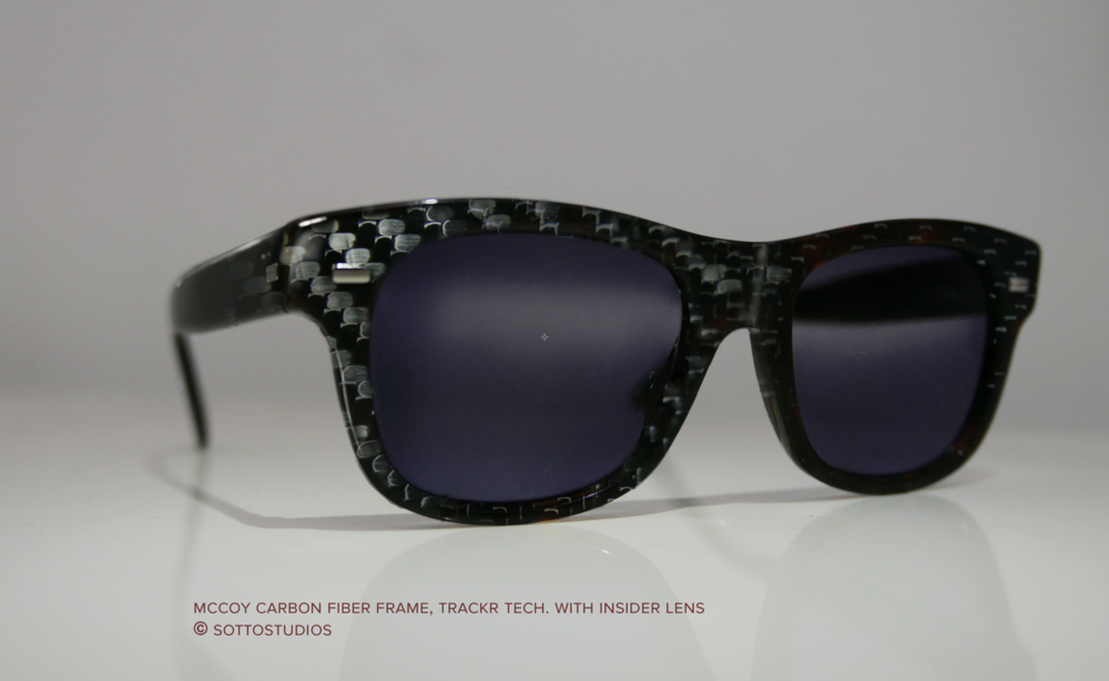 Early design direction for Carbon Fiber eyewear.