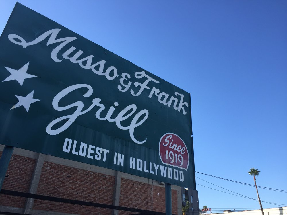 Worth the visit. Musso & Frank is the real Hollywood. Why is that important?