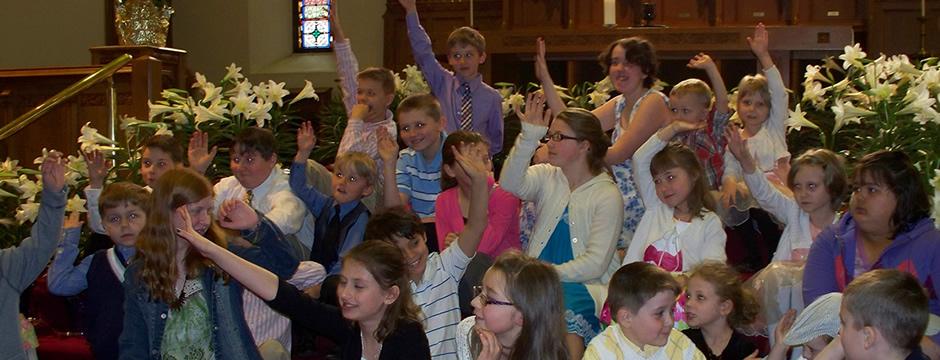 Easter Sunday Children's  Time