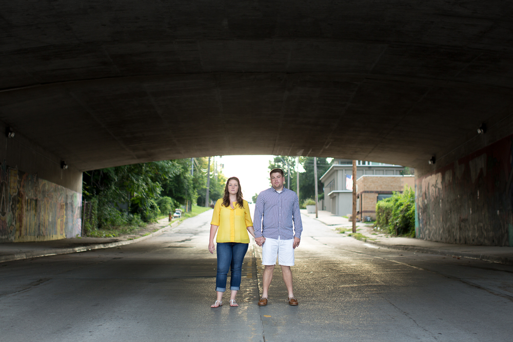 crossroads kansas city engagement photos