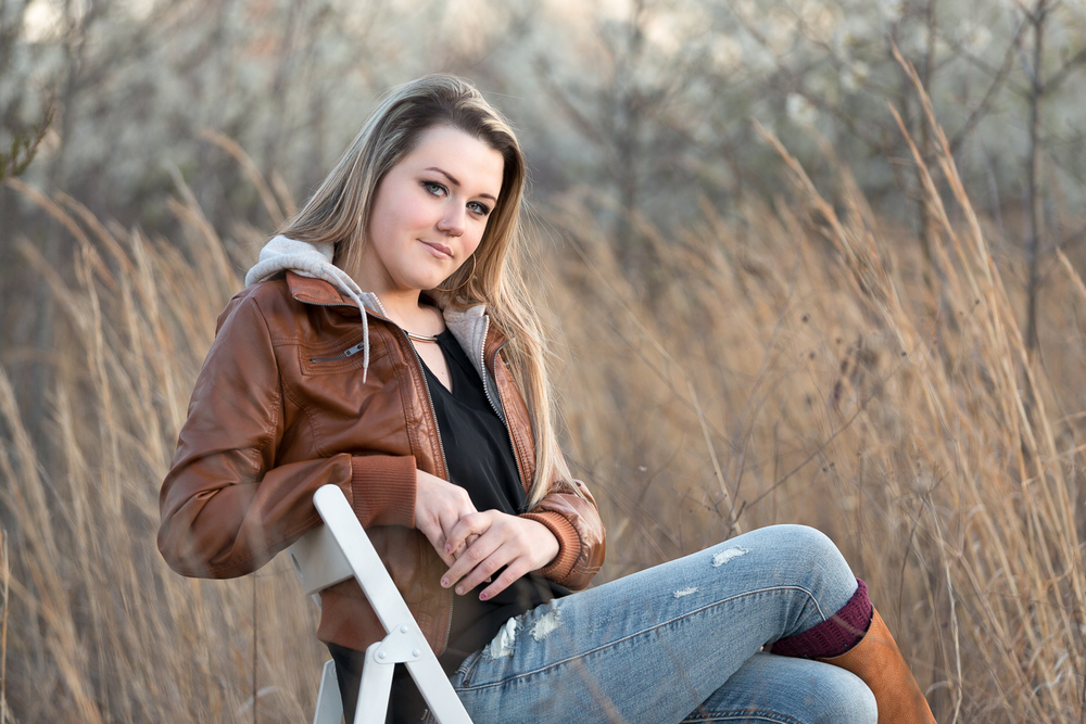 blue Springs Senior Photographer | grain valley high school | of