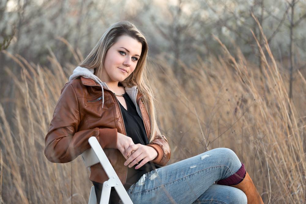 blue Springs Senior Photographer | grain valley high school | of
