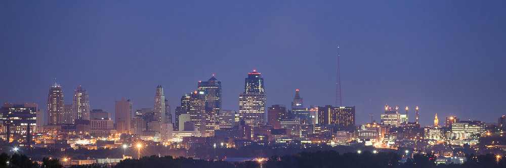 Downtown Kansas City Missouri Skyline www.anthem-photo.com Anthe