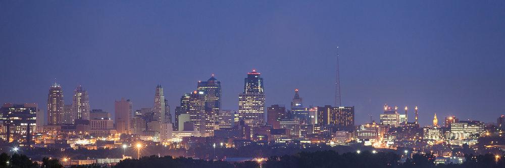 Downtown Kansas City Missouri Skyline www.anthem-photo.com Anthe