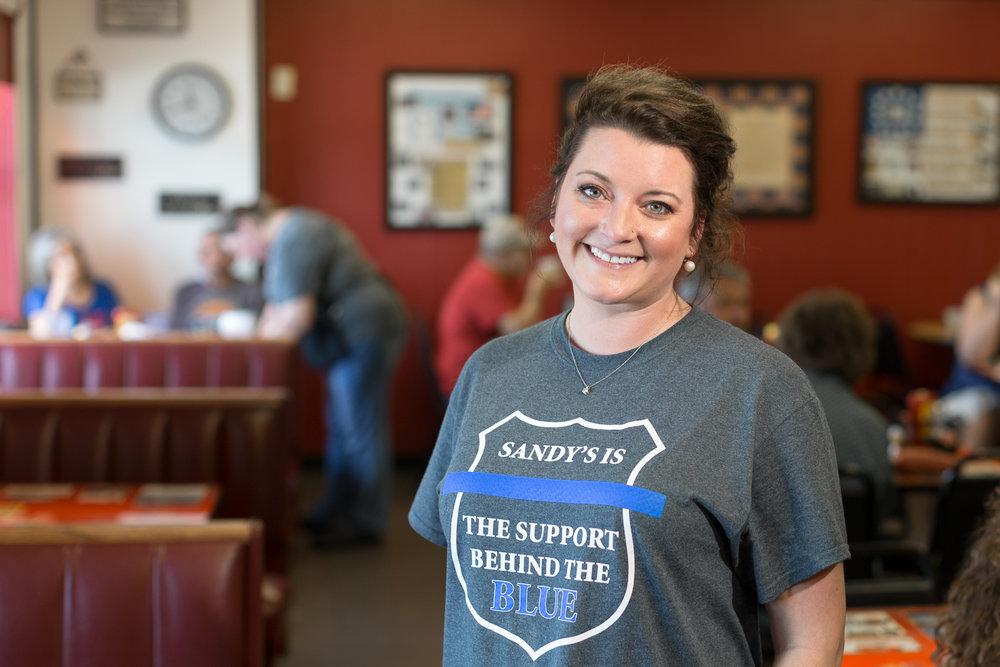Sandy's Restaurant - Erika Brakenbury