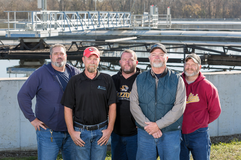 Wastewater Treatment Facility Staff