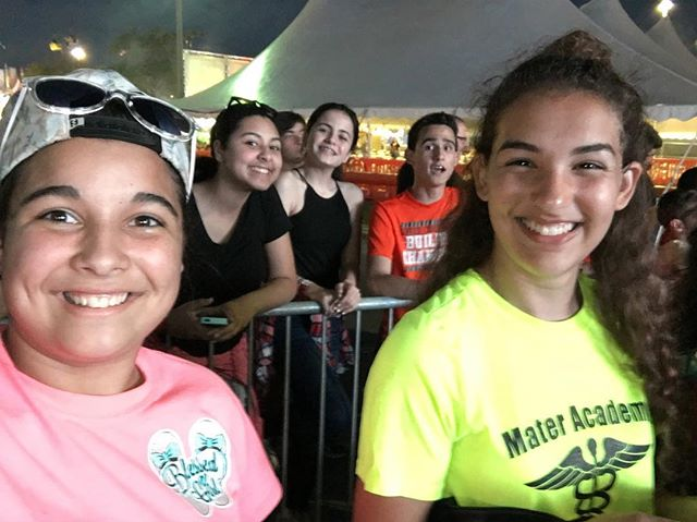 Fusion youth excited for #mercyme #miamiyouthfair