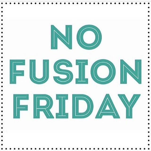 No fusion tonight!! We are having our good Friday drama! You can join us either way at 8 pm.