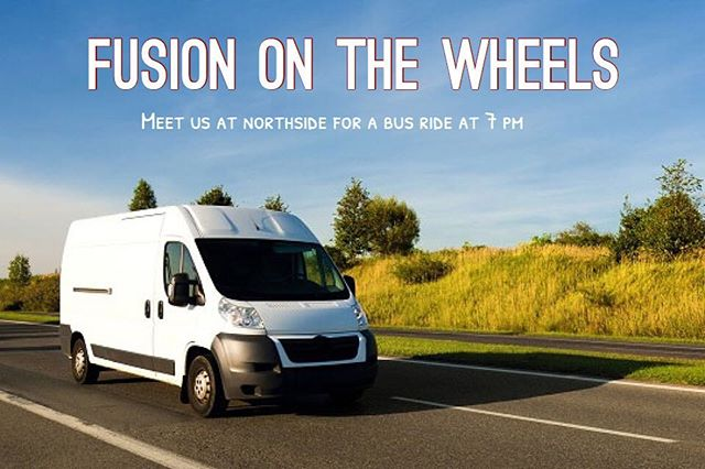 FUSION IS ON WHEELS. We'll be at The church Primera Iglesia Alianza located at 415 e 12 street.To meet us to get a ride be at northside at 7 pm to go together. Please join us!!