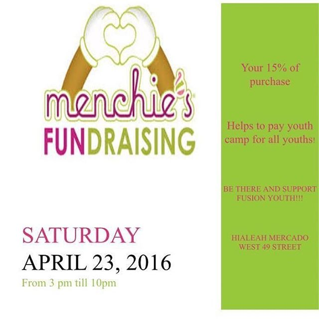 Join us at menchies for a fundraiser!!