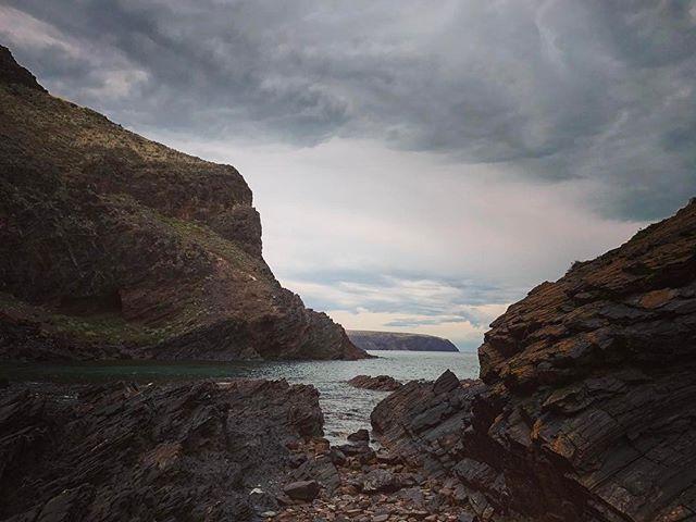 Moody skies over #secondvalley #southaustralia