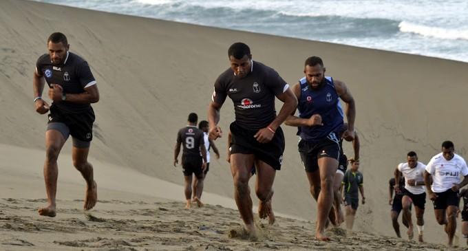 Entrenamiento Fiji 7´s preparación Seven World Series