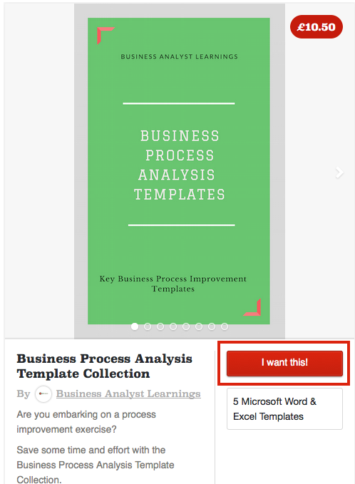 Business process analysis template guide samples business how do i make payment wajeb