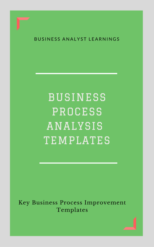 Business process analysis template collection business analyst business process analysis template collection flashek Image collections