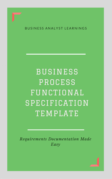 Business process functional specification bpfs template business business process functional specification bpfs template wajeb Gallery